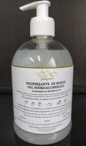 HYGIENIZING HANDS HYDROALCOHOLIC GEL 65%